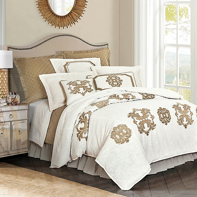 Alternate image 1 for HiEnd Accents Madison Duvet Cover