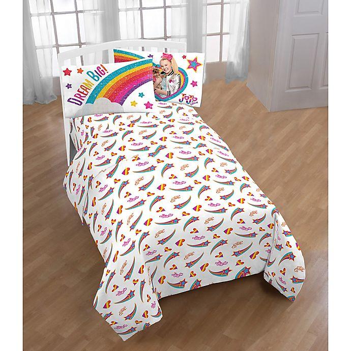 Jojo Siwa Rainbow Sparkle Sheet Set, Jojo Siwa Bedding Set Full