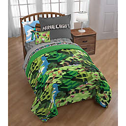 Minecraft 3-Piece Twin/Full Comforter Set