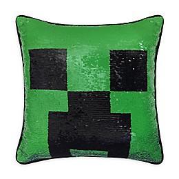 Minecraft Square Throw Pillow