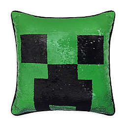 Minecraft Square Throw Pillow