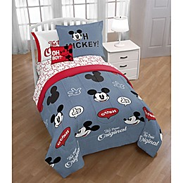 Disney® Mickey Mouse 3-Piece Twin/Full Comforter