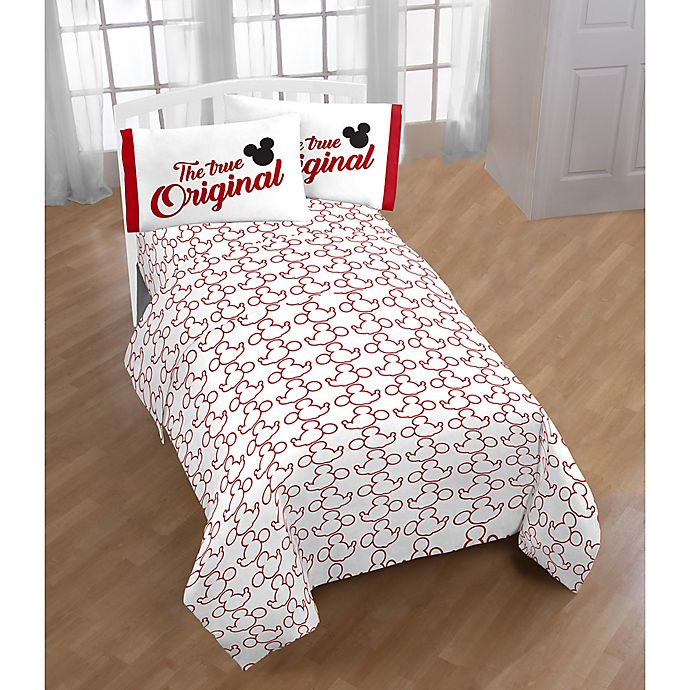 Alternate image 1 for Disney® Mickey Mickey Sheet Set