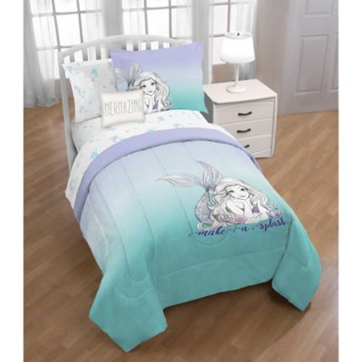 Disney 174 The Little Mermaid 3 Piece Twin Full Comforter Set