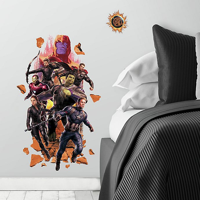 Alternate image 1 for RoomMates® 9-Piece Avengers End Game Peel & Stick Giant Wall Decal Set