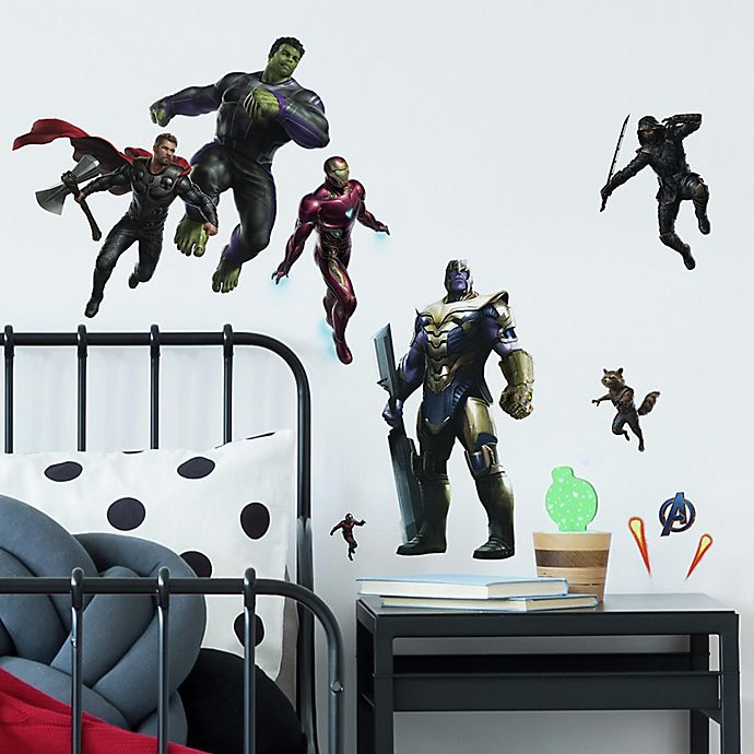 Alternate image 1 for RoomMates® 26-Piece Avengers End Game Peel & Stick Wall Decal Set
