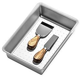 madesmart® 6-Inch x 9-Inch Basic Bin Drawer Organizer in Soft Grey