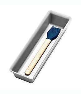 madesmart® Organizador para cajón de 9.67 x 32.53 cm en gris claro