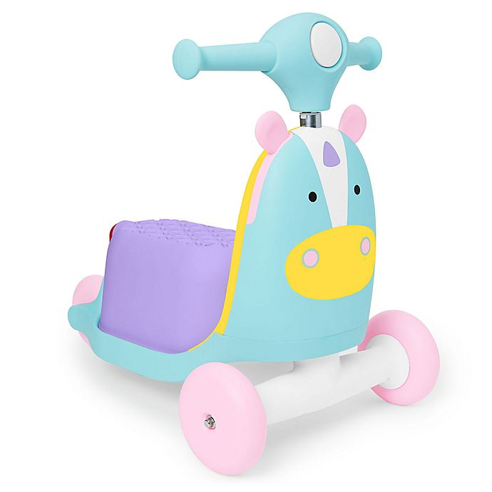 Alternate image 1 for SKIP*HOP® Zoo 3-in-1 Ride-On Unicorn