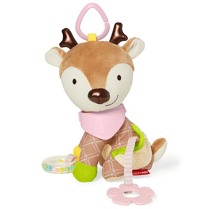 Alternate image 1 for SKIP*HOP® Bandana Buddies Deer Activity Toy in Pink