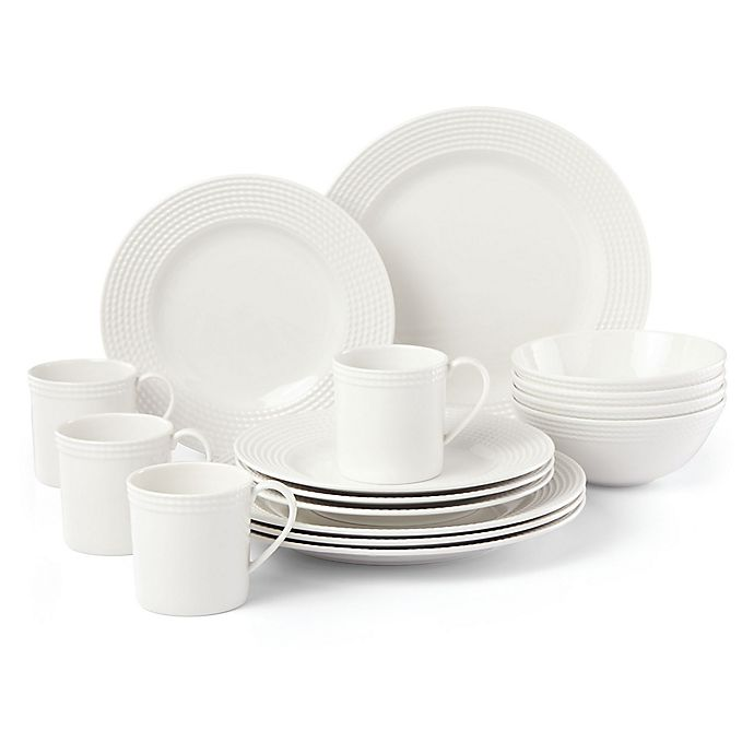 Alternate image 1 for kate spade new york Wickford™ 16-Piece Dinnerware Set