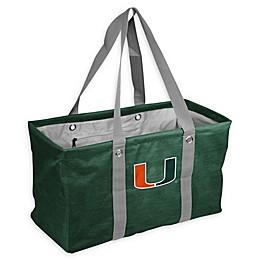 University of Miami Crosshatch Picnic Caddy