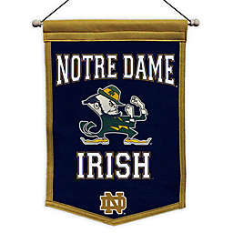 University of Notre Dame Traditions Classic Pennant Banner