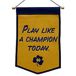 University of Notre Dame Traditions Vintage Pennant Banner