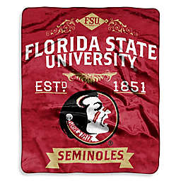 Florida State University Seminoles Raschel Throw