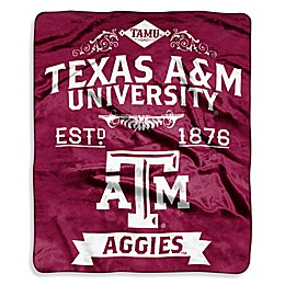 Texas A&M University Raschel Throw Blanket