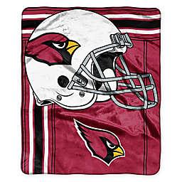 NFL Arizona Cardinals Royal Plush Raschel Throw
