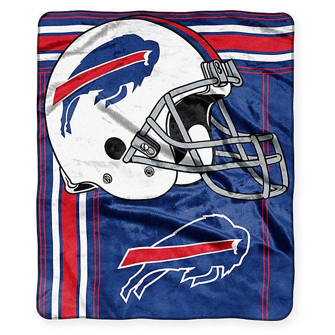 Alternate image 1 for NFL Buffalo Bills Royal Plush Raschel Throw