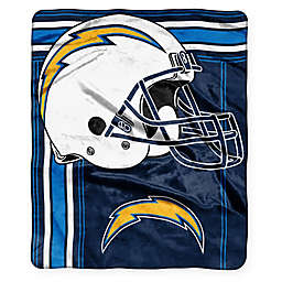 NFL  Los Angeles Chargers Royal Plush Raschel Throw