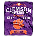Clemson University Raschel Throw