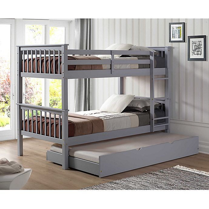 Alternate image 1 for Forest Gate™ Solid Wood Twin Bunk Bed & Trundle Bed Collection