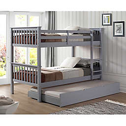 Forest Gate™ Solid Wood Twin Bunk Bed & Trundle Bed Collection