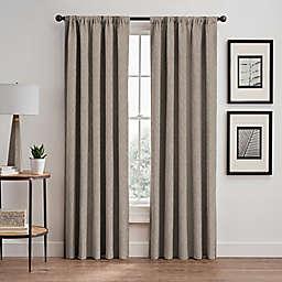 Sebille Pinch Pleat/Back Tab Room Darkening Window Curtain Panel