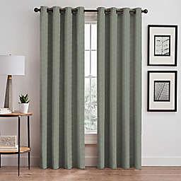 Zacapa 95-Inch Grommet Window Curtain Panel in Meadow Green
