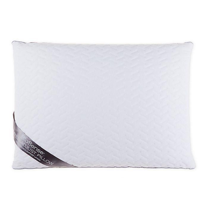 Alternate image 1 for Brookstone® BioSense™ Layer Adjust Standard/Queen Memory Foam Pillow