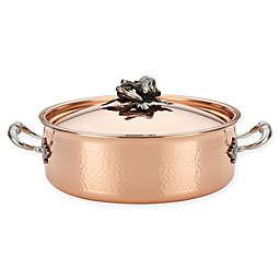 Ruffoni Opus Cupra 5.25 qt. Copper Covered Braiser