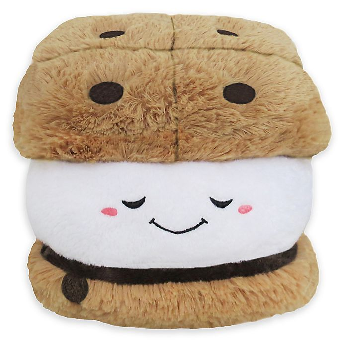 Alternate image 1 for Squishable Mini S'More Toy in Brown