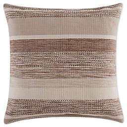 Bridge Street® Autumn Yarn Dye Square Throw Pillow in Taupe