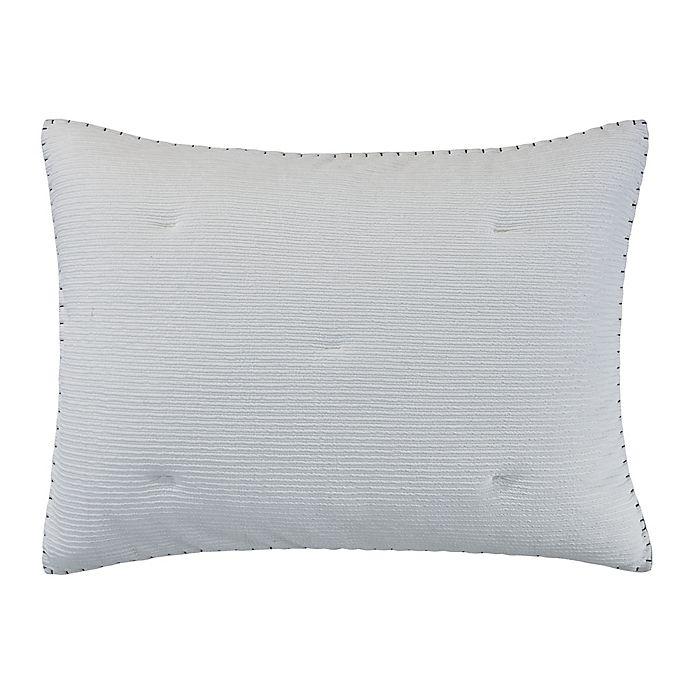 Alternate image 1 for ED Ellen DeGeneres™ Sonoma Standard Pillow Sham in Blue/Grey