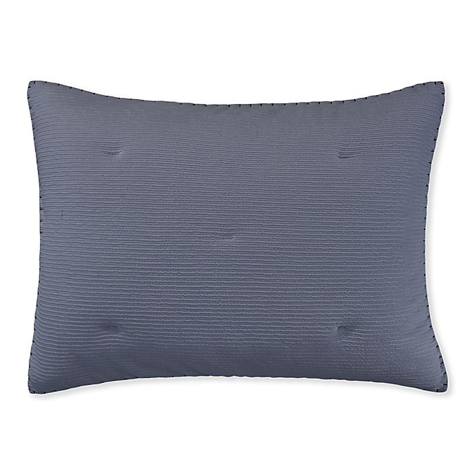 Alternate image 1 for ED Ellen DeGeneres™ Sonoma Standard Pillow Sham in Blue