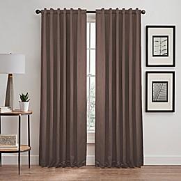 Silken Rod Pocket/Back Tab Room Darkening Window Curtain Panel