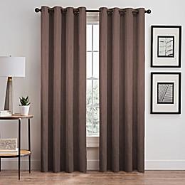 Silken Grommet Room Darkening Window Curtain Panel