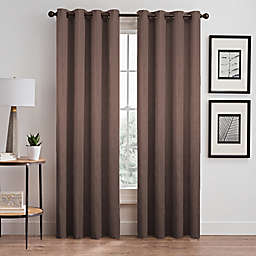Silken Grommet Room Darkening Window Curtain Panel