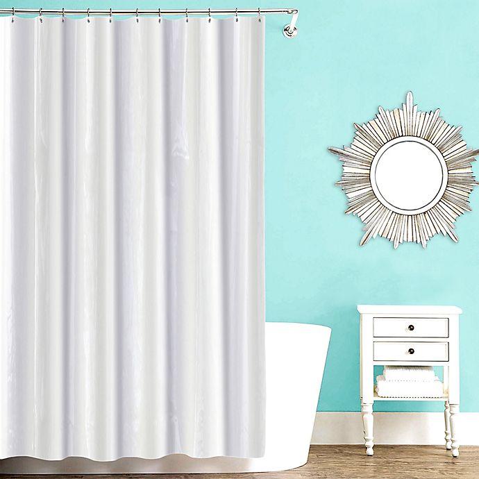 Alternate image 1 for Ecoglo PEVA Shower Curtain Liner