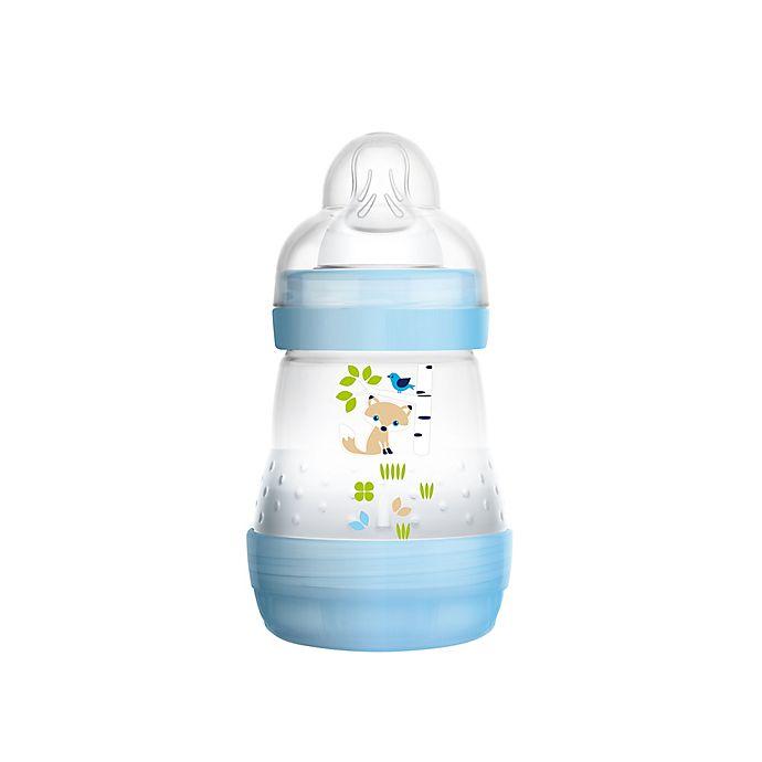 Alternate image 1 for MAM 5 oz. Anti-Colic Bottle in Blue
