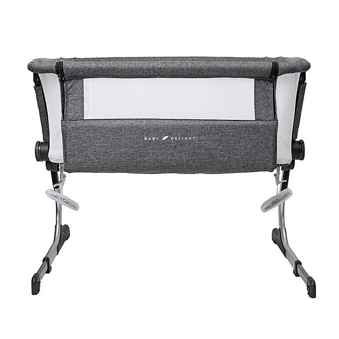 Alternate image 1 for Baby Delight Beside Me Dreamer Bassinet & Bedside Sleeper in Charcoal Grey