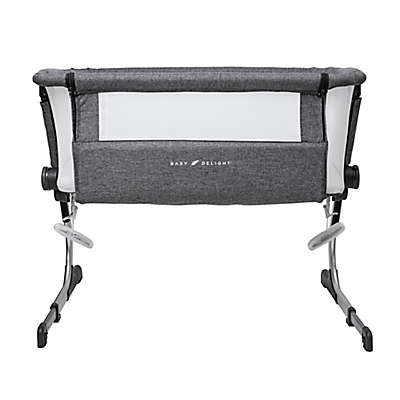 Baby Delight Beside Me Dreamer Bassinet & Bedside Sleeper in Charcoal Grey
