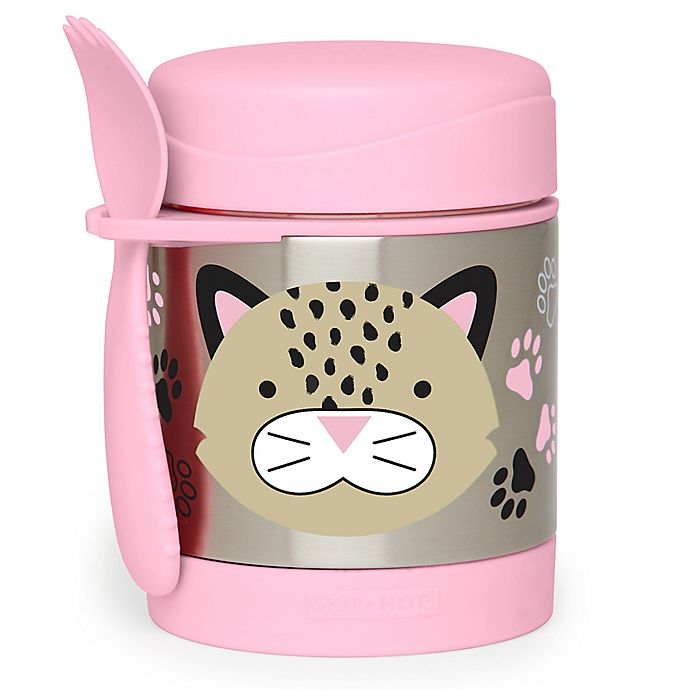 Alternate image 1 for SKIP*HOP® Zoo Insulated Leopard Food Jar