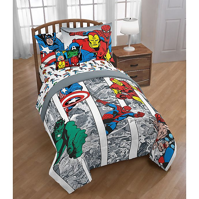 Alternate image 1 for Marvel® Comics Twin/Full Comforter