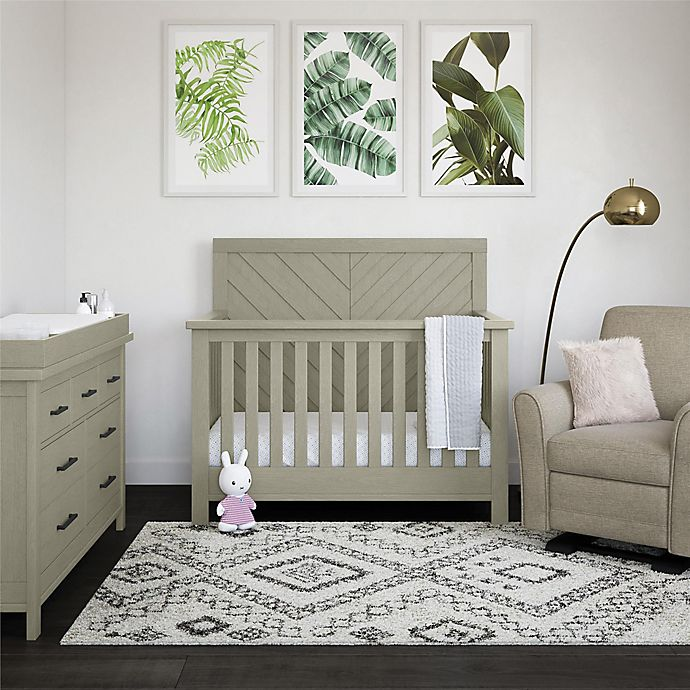 Alternate image 1 for Bertini® Canyon Nursery Furniture Collection in Mineral Gray