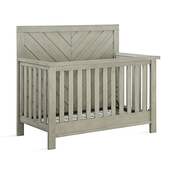 Alternate image 1 for Bertini® Canyon 5-in-1 Convertible Crib in Mineral Gray