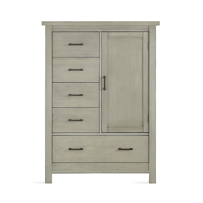 Alternate image 1 for Bertini® Canyon Armoire in Mineral Gray