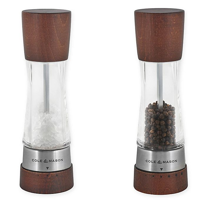 Alternate image 1 for Cole & Mason Derwent Salt and Pepper Mill Collection in Forest Wood