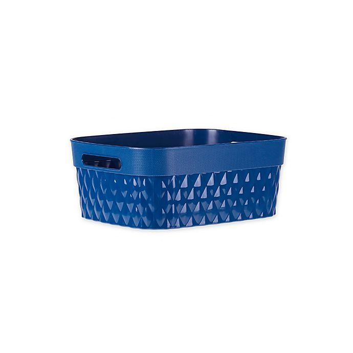 Alternate image 1 for Starplast Rectangular Quilted Flex Storage Basket