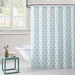 Freshee Cathedral Shower Curtain in Aqua