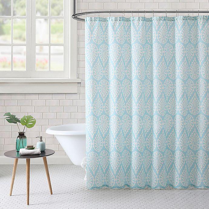 Alternate image 1 for Freshee™ Paisley Shower Curtain